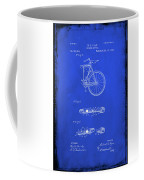 Folding Bycycle Patent Drawing 2d Coffee Mug