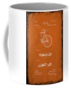 Folding Bycycle Patent Drawing 2e Coffee Mug
