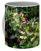 Foliage And Flowers Coffee Mug