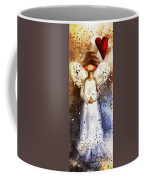 Folk Art Angel Coffee Mug