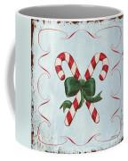 Folk Candy Cane Coffee Mug