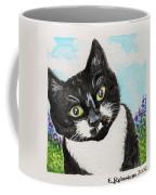 Follow Me Into The Garden Coffee Mug