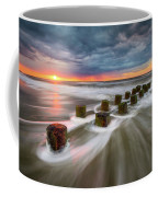 Folly Beach Charleston Sc South Carolina Sunrise Seascape Coffee Mug
