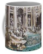 Fontana Di Trevi Rome Coffee Mug