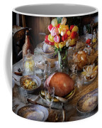 Food - Easter Dinner Coffee Mug by Mike Savad