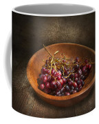 Food - Grapes - A Bowl Of Grapes  Coffee Mug by Mike Savad