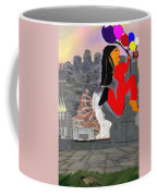 Foot Be Alone Shoe Coffee Mug