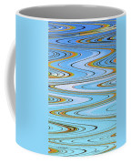 Foot Bridge Abstract Coffee Mug