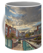 Foot Bridge At Gas Street Basin  Birmingham Coffee Mug