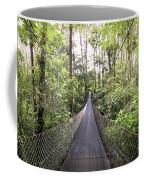Foot Bridge In Costa Rica Coffee Mug