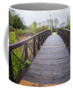 Foot Bridge In Park Coffee Mug