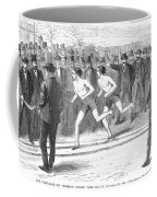 Foot Race, 1868 Coffee Mug