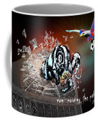 Football Derby Rams Against Crystal Palace Eagles Coffee Mug
