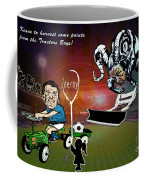 Football Derby Rams Against Ipswich Tractor Boys Coffee Mug