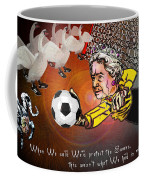 Football Derby Rams Against Swansea Swans Coffee Mug