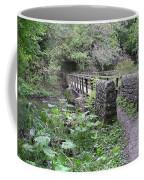 Footbridge At Millers Dale Coffee Mug