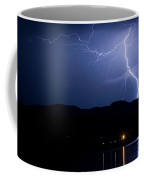 Foothills Lake Lightning Extreme Weather Storm Coffee Mug