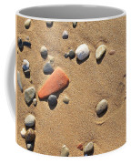 Footprint On Sand Coffee Mug