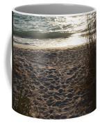 Footprints In The Dunes Coffee Mug