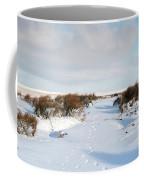 Footprints In The Snow Iv Coffee Mug