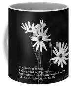 For God So Loved Black-eyed Susan Flower Coffee Mug