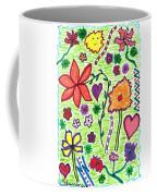 For The Love Of Flowers Coffee Mug