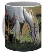 For The Love Of His Horse Coffee Mug
