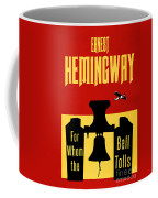 For Whom The Bell Tolls Book Cover Poster Art 2 Coffee Mug