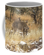 Foraging In The Snow Coffee Mug