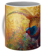Foraging Pheasant Coffee Mug
