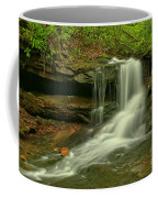 Forbes State Forest Cole Run Cave Falls Coffee Mug