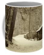 Forbidden Drive In Winter Coffee Mug