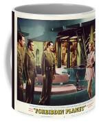 Forbidden Planet In Cinemascope Retro Classic Movie Poster Indoors Coffee Mug