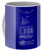 Ford Engine Lubricant Cooling Attachment Patent Drawing 1c Coffee Mug