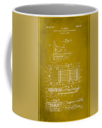 Ford Engine Lubricant Cooling Attachment Patent Drawing 1d Coffee Mug