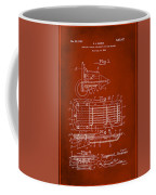 Ford Engine Lubricant Cooling Attachment Patent Drawing 1g Coffee Mug