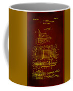 Ford Engine Lubricant Cooling Attachment Patent Drawing 1h Coffee Mug
