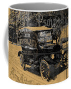 Ford Model T Made Using Found Objects Coffee Mug