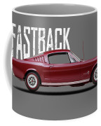 Ford Mustang Fastback 1965 Coffee Mug