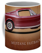 Ford Mustang Fastback 1965 Coffee Mug