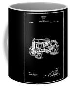 Ford Tractor Patent 1919 Black Coffee Mug