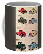 Ford Truck Stamps Coffee Mug