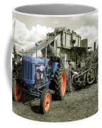 Fordson And The Threshing Machine Coffee Mug