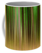 Forest Abstract04 Coffee Mug by Svetlana Sewell