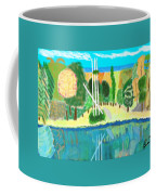 Forest At The Shore Coffee Mug