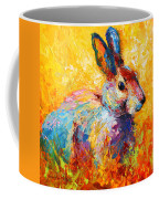 Forest Bunny Coffee Mug by Marion Rose
