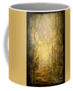 Forest Butterfly Moon Coffee Mug