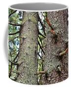 Forest Corrosion Bark Coffee Mug