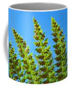 Forest Ferns Art Prints Blue Sky Botanical Baslee Troutman Coffee Mug