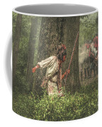 Forest Fight Coffee Mug by Randy Steele